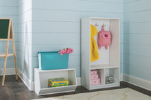 Load image into Gallery viewer, Order now closetmaid 1499 kidspace open storage locker 49 inch height white