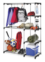Load image into Gallery viewer, Results whitmor deluxe utility closet 5 extra strong shelves removable cover