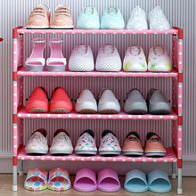 Load image into Gallery viewer, 4 Tier Shoe Rack