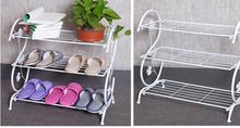 Load image into Gallery viewer, 3 Tier Shoe Rack