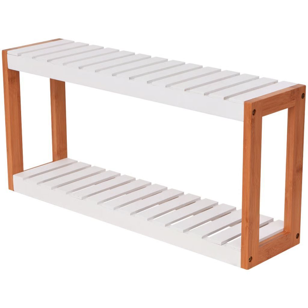 Bathroom Shelf Bamboo 60x15x28.5 cm