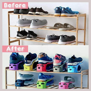 Space Saving Shoe Holder