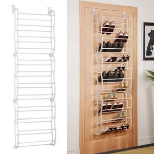 36 Pairs Over Door Shoe Rack