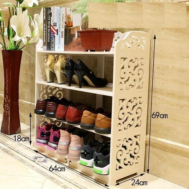 European Wood Organiser / Shoe Cabinet