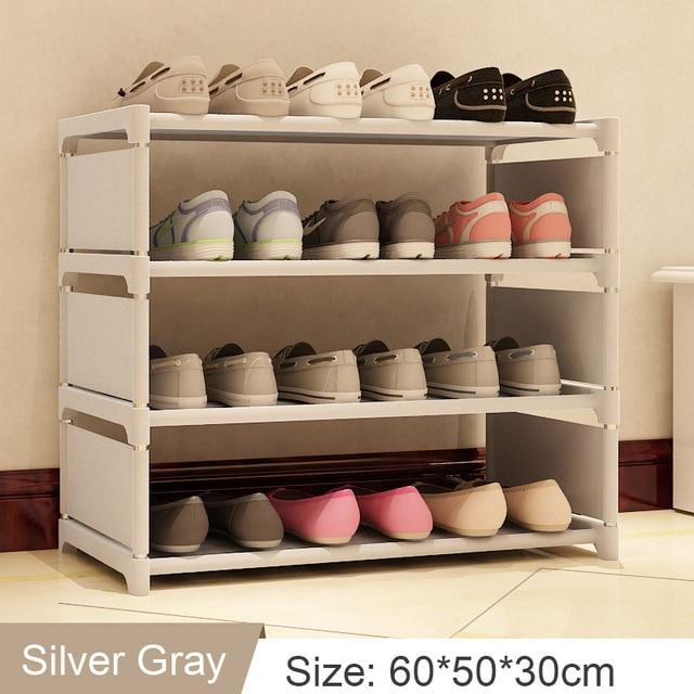 Easy Assembly Nonwoven Shoes Shelf