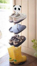 Load image into Gallery viewer, Cartoon Children Vertical Shoe Rack Console