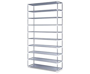 10 Tiers Stackable Shoe Storage Rack – 159cm