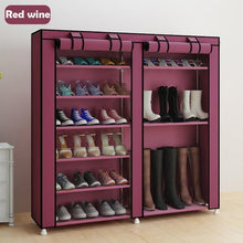 Load image into Gallery viewer, Minimalistic Shoe Closet Multi-Purpose Shoe Rack