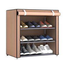 Load image into Gallery viewer, Dustproof Large Size Non Woven Fabric Shoes Rack Shoes Organizer Home Bedroom Dormitory Shoe Racks Shelf Cabinet