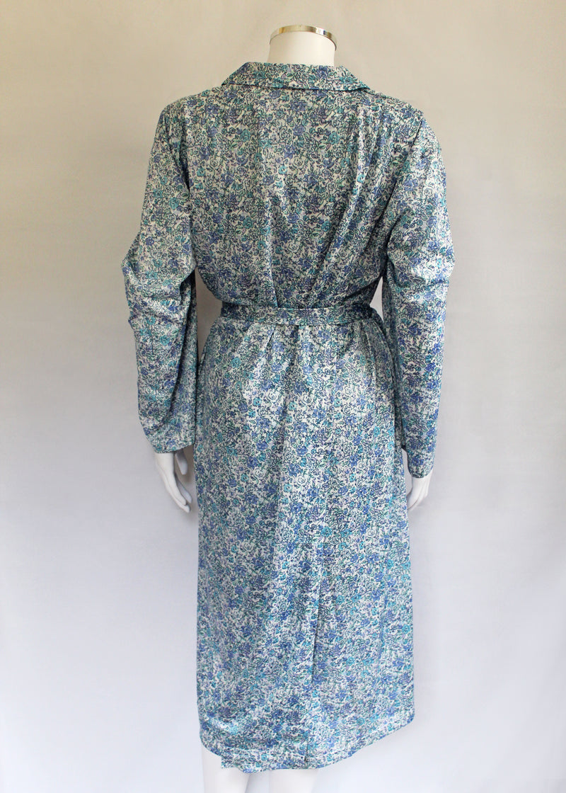 Nancy Petal Back Long Sleeve Dress - Cornflower Meadow VAT Relief