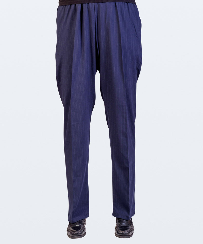Men's Elasticated Waist Stretch Pull On Trousers