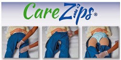 CareZips Incontinence Dignity Trousers
