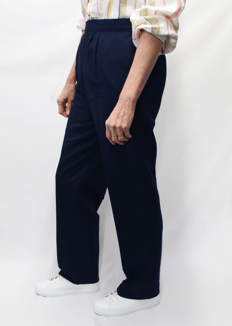 Ladies Easy-Fit Drop-Front Trousers