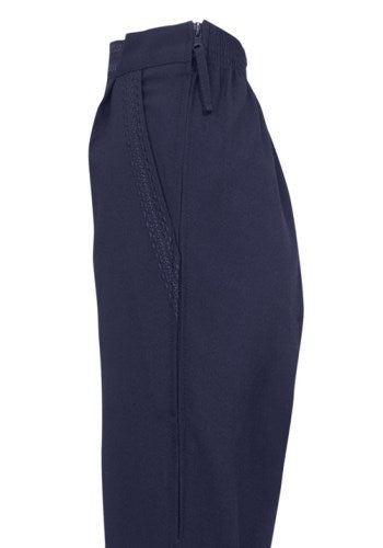 Ladies Trousers with side zip opening Vat Relief