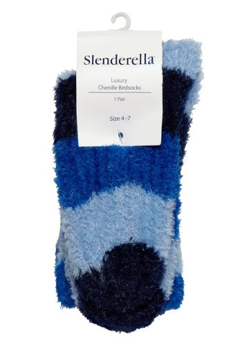 Luxury Striped Chenille Socks