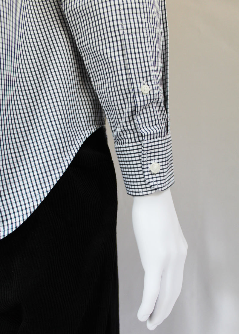 Men's Magnetic Shirt - Black Check