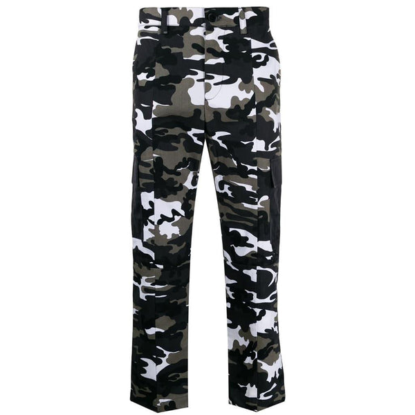 Camouflage trousers not guilty homme