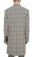 Houndstooth coat not guilty homme