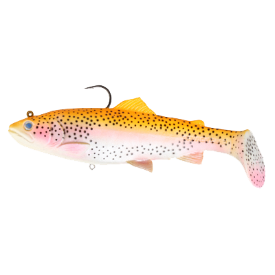 SG 3D Trout Rattle Shad 17cm 80g 02-Golden Albino Rainbow