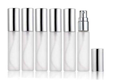 Perfume Spray Bottle 10ml Frosted Glass  refillable / Essential Oil Spray Bottle