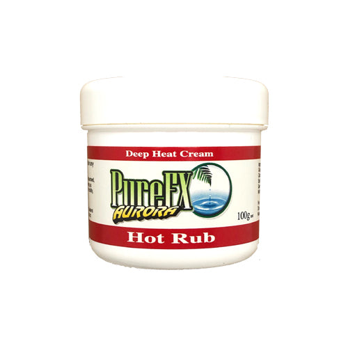 Hot Rub Massage Cream