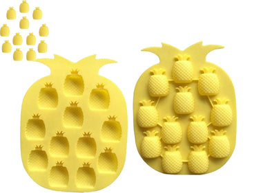 Pineapple Soap / Wax Mold Mini Pineapples 12 cavities