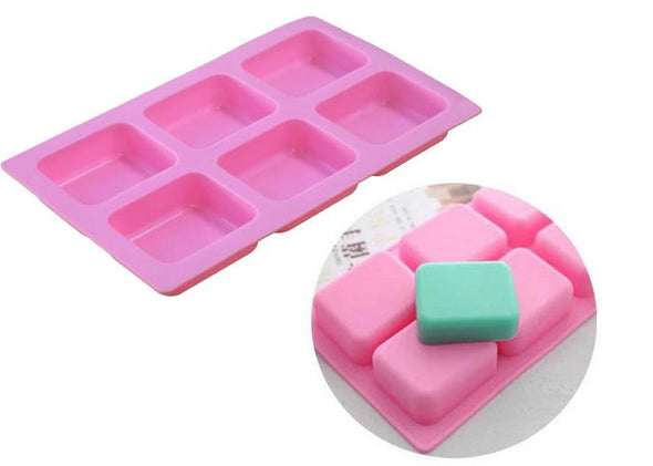 Soap Mold / Reusable -Rectangle/Rounded