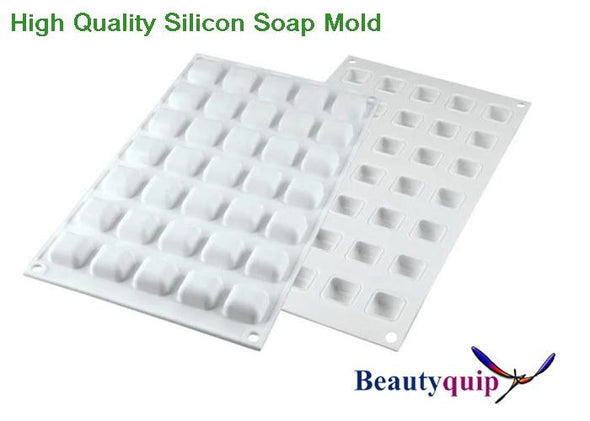 Silicon Mold / 35 Gem Shaped Cavities / Soap Mold / Wax Melts.