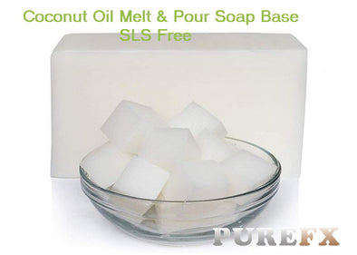 Soap Base /Coconut Oil SLS free ( Melt and Pour )