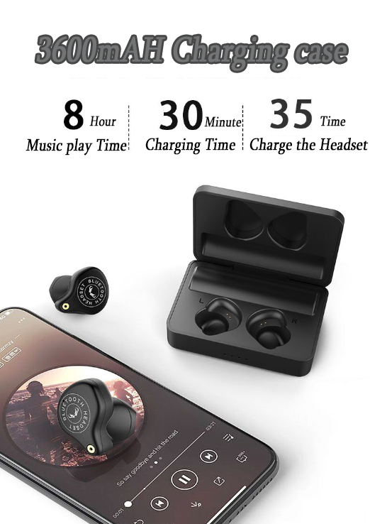 60% OFF-The most comfortable never drop wireless headset - long use time