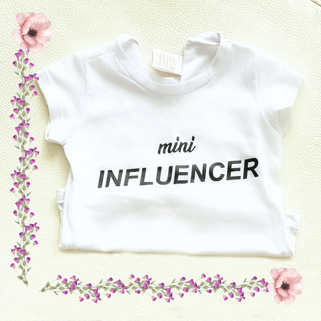 Camiseta Mini Influencer