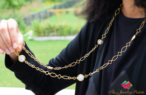 Valerie trendy metal link chain necklace - The Jewelry Palette