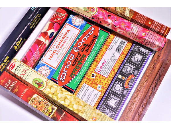 Gift Set £10 Incense Variety Pack