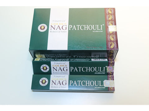 <p>Vijayshree</p> Golden Nag Patchouli sticks