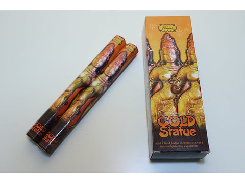 Padmini Gold Statue sticks