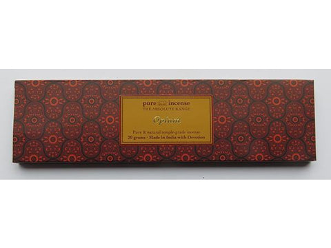 Opium fragranced Indian Incense - Pure Incense Absolute - 20 gram pack