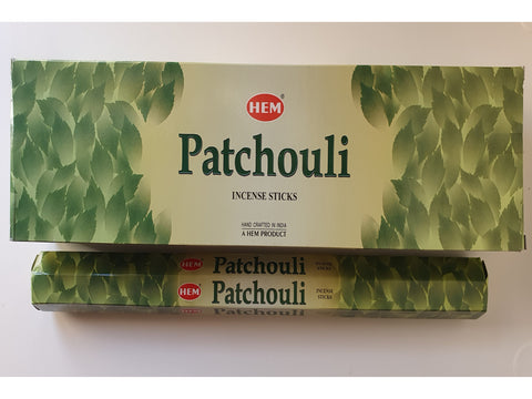 <p>HEM</p> Patchouli Garden Incense Sticks
