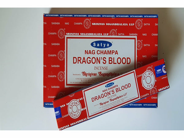 Satya Nag Champa Dragon's Blood sticks 15gm