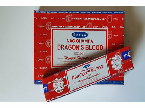 <p>Satya</p> Nag Champa Dragon's Blood sticks 15gm