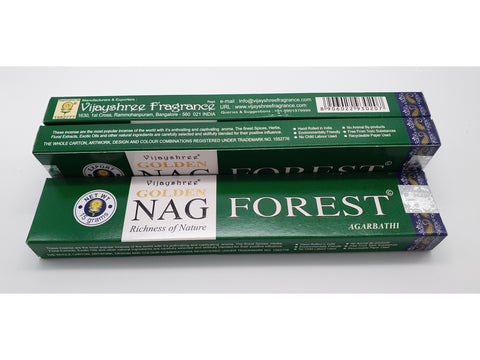 Vijayshree Golden Nag Forest Incense Sticks 15g