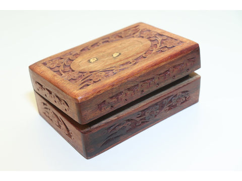 Leaf & vine trinket box