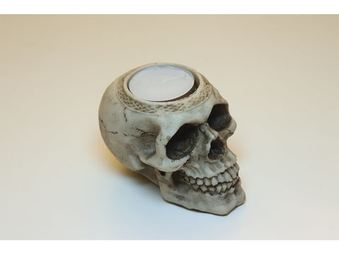 Skull tealight holders