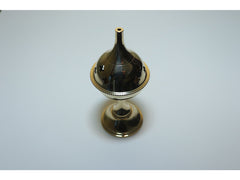 Brass goblet incense burner - medium