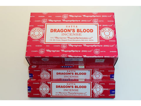 <p>Satya</p> Dragon's Blood sticks 15gm