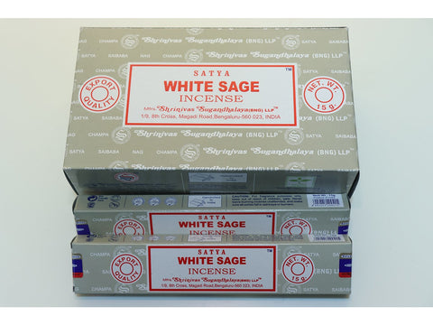 Satya White Sage sticks