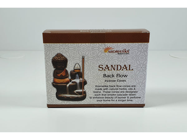 Aromatica Backflow Incense Cones - Sandal