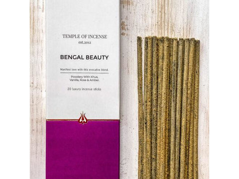 Temple of Incense - Bengal Beauty - 20 stick pack