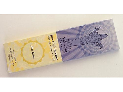 Pure incense Classic -  Blue Lotus - 10 gram pack