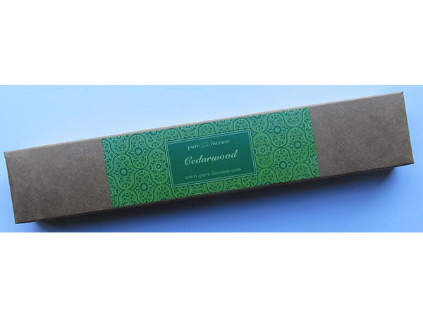 Cedarwood Indian Incense - Pure Incense Absolute - 50 gram Box