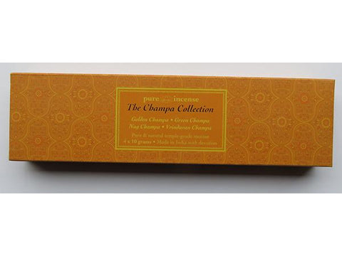 Champa Collection Indian Incense - Pure Incense Absolute - 40 gram Box